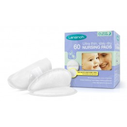 Lansinoh Disposable Nursing Pads- 60 Count